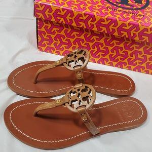 Brand new tory burch gabriel sandals